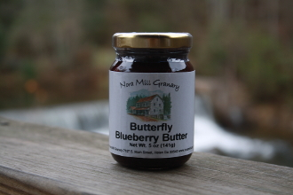 Butterfly Blueberry Butter - 5 oz