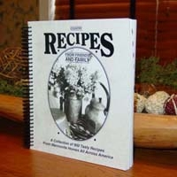 Country Recipes From Friends and Family - Cookbook