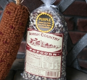 Amish Country Purple Popcorn