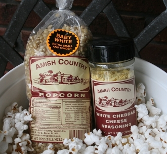 Amish Country Baby White Popcorn