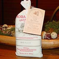Rye Flour - 2 lb cloth bag